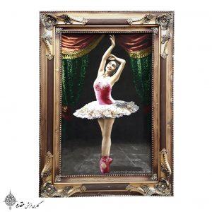 تابلو فرش دستباف رقص باله